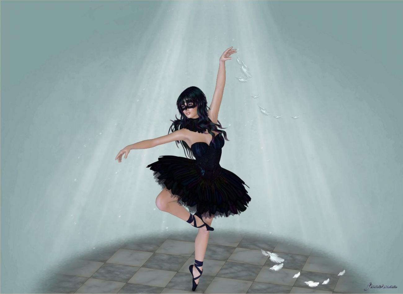 The masked ballerina