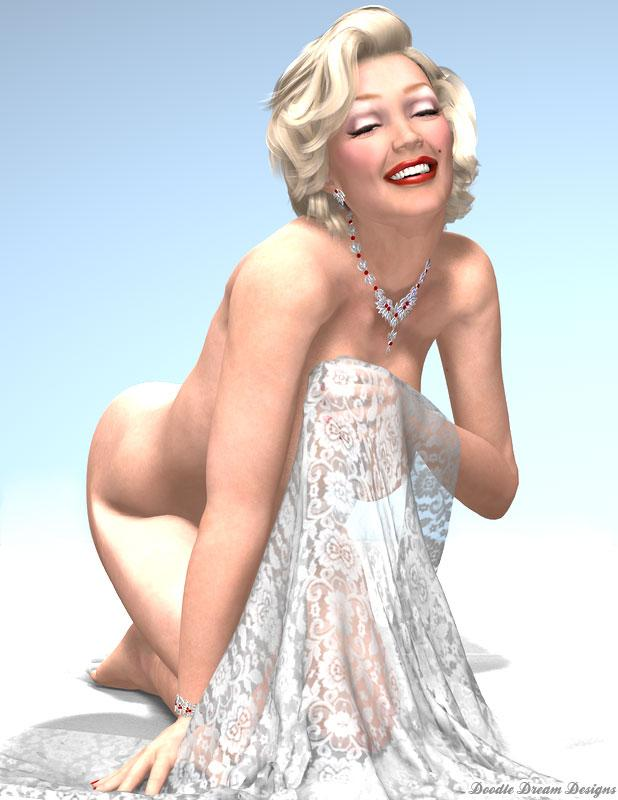 Celebrity Pin-up: Marilyn Monroe