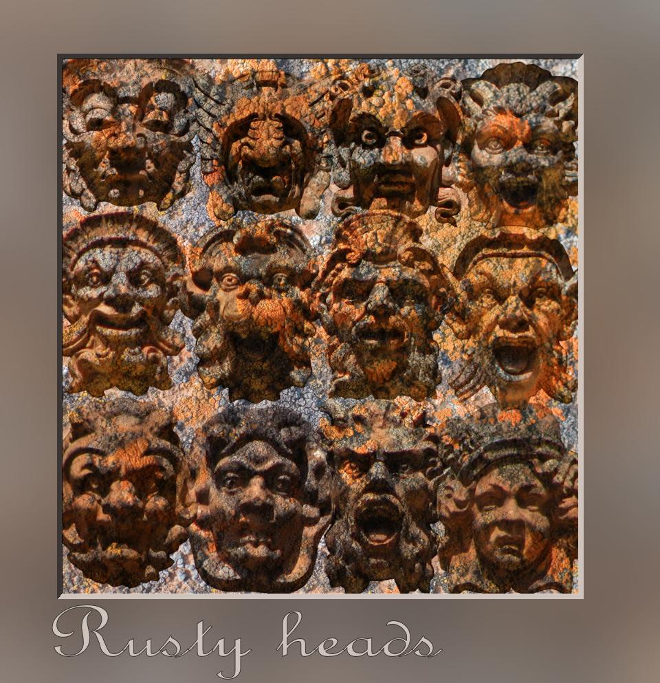 RUSTY HEADS by rocserum