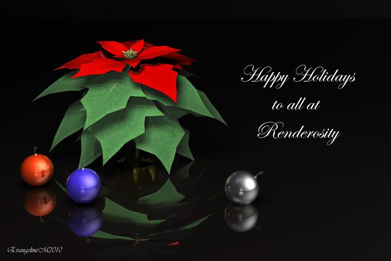 Happy Holidays to all:)