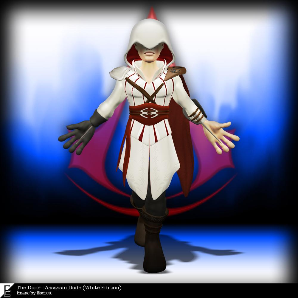Assassin Dude (White Edition) by Eseres