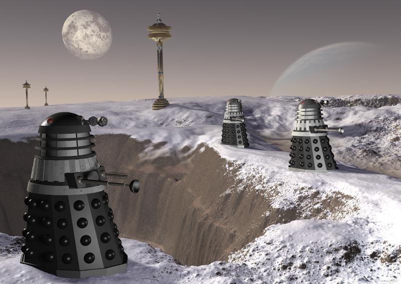 Skaro - Planet of the Daleks by tosk Mojoworld Science Fiction on cybermen home planet, angel home planet, sontaran home planet, doctor who dalek planet, time lords the home planet,