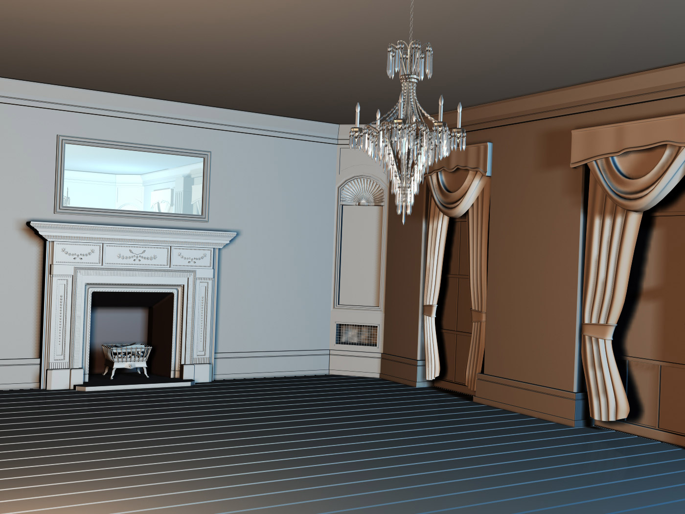 Victorian Style Room