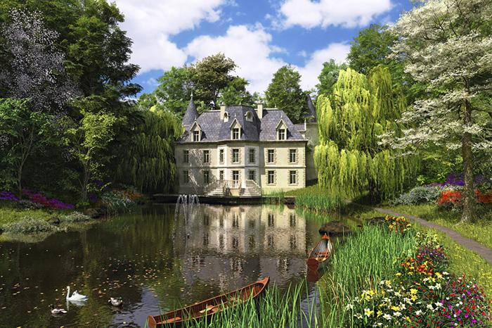 Water Garden Chateau