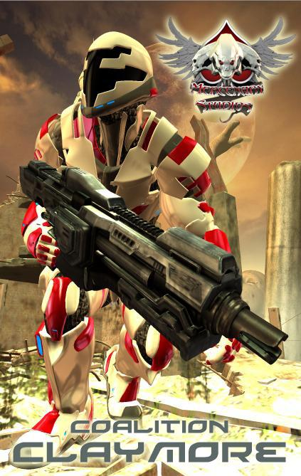 Coalition Claymore Armor for M4 by Mestophales