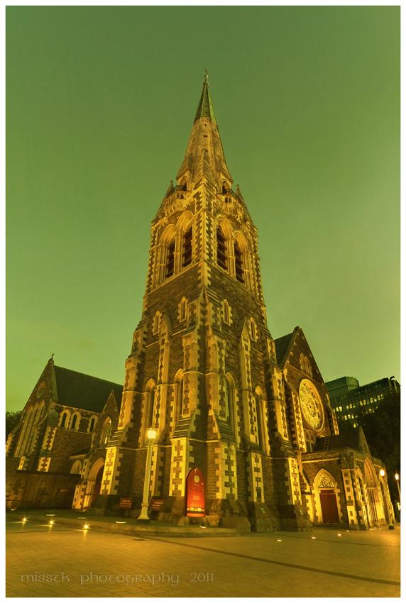 Cathedral at Christchurch