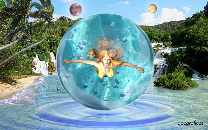 Water Sphere by apcgraficos