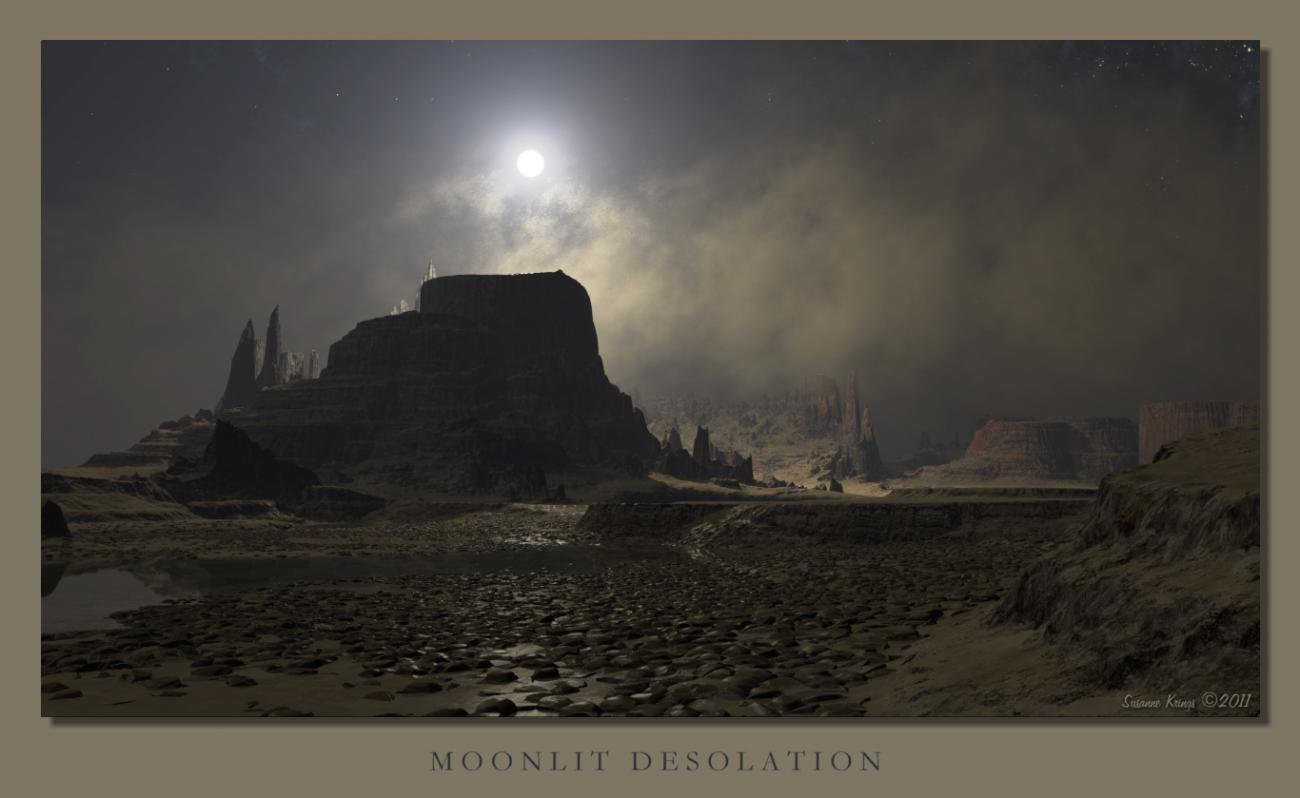 Moonlit Desolation