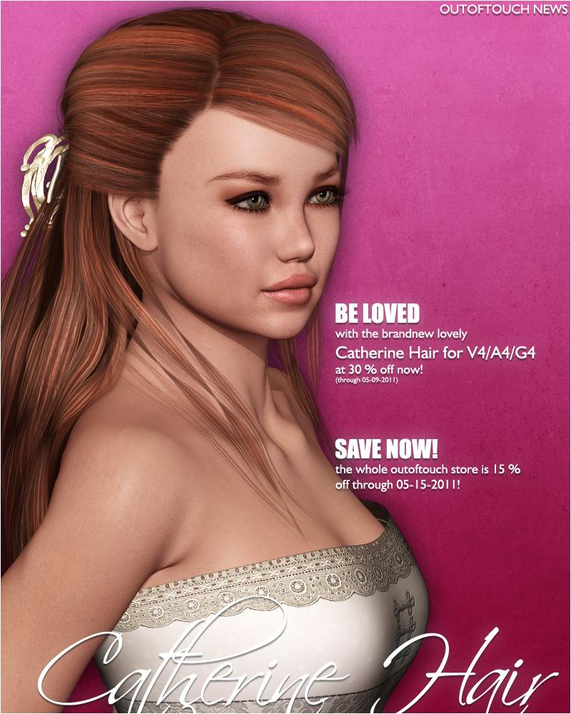 [::OOT News: Catherine Hair::] by outoftouch
