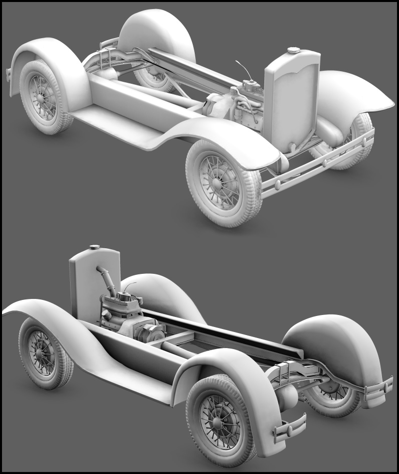 1930 Ford A  WIP 2