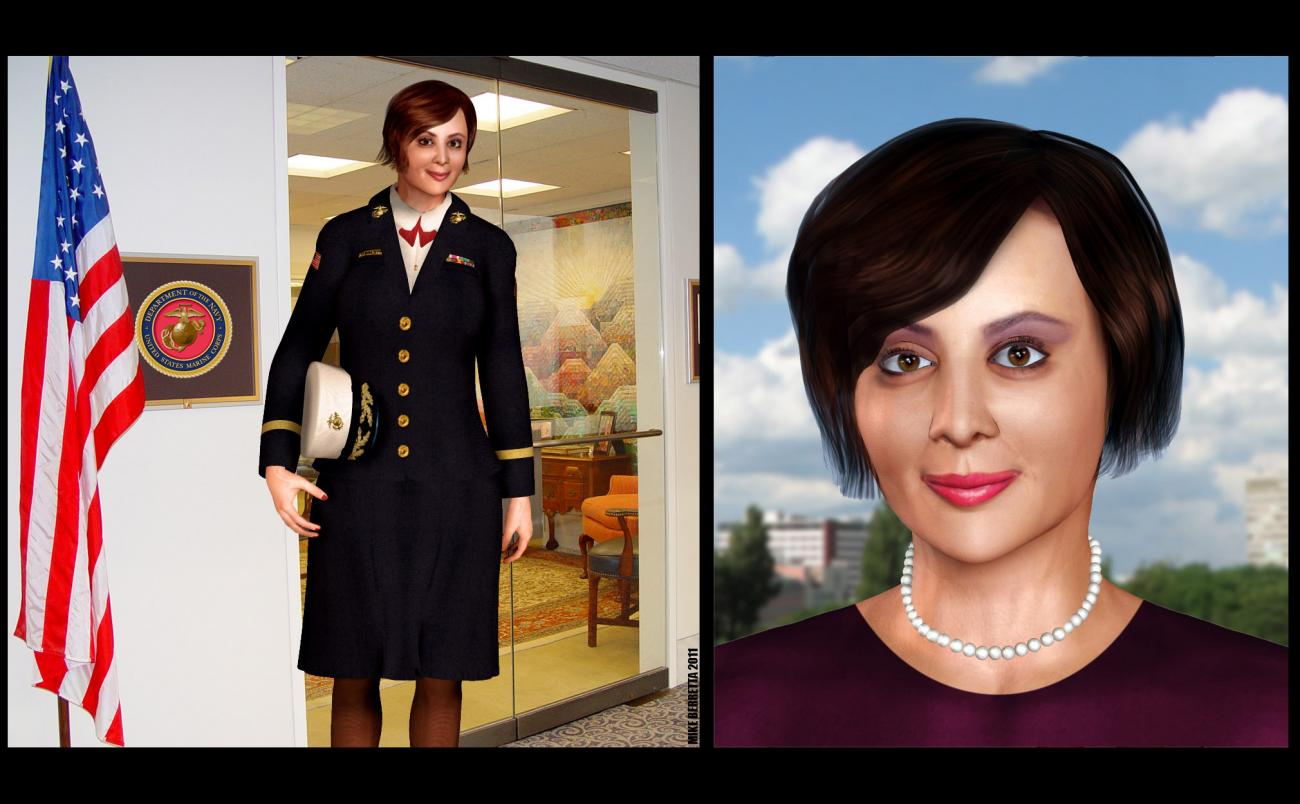 Catherine Bell 3D