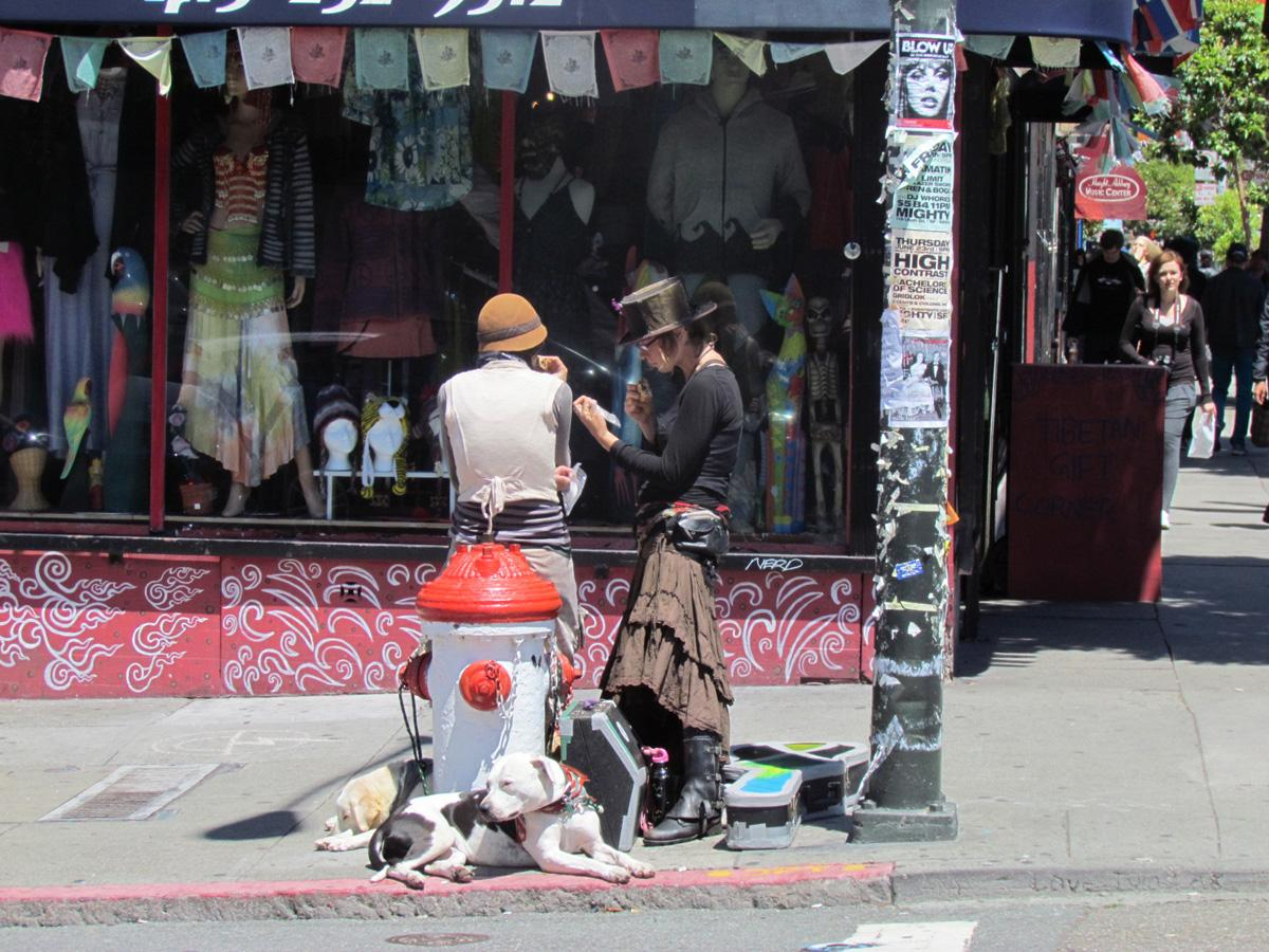 On the Haight...S.F. Ca.