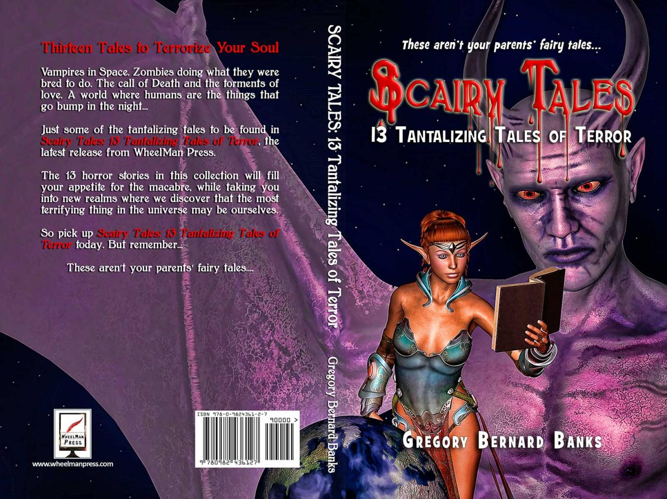 Scairy Tales (book cover) by BDDesign