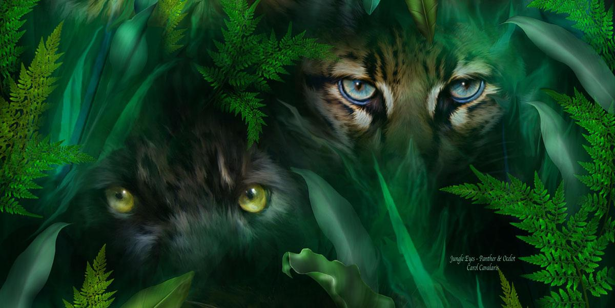 Jungle Eyes - Panther/Ocelot