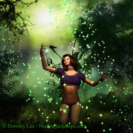 Green Earth Fairy