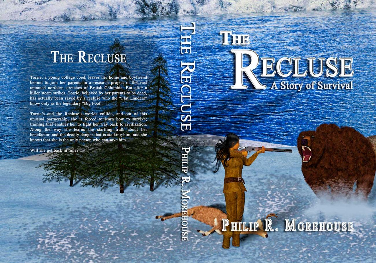 The Recluse (book cover) by BDDesign