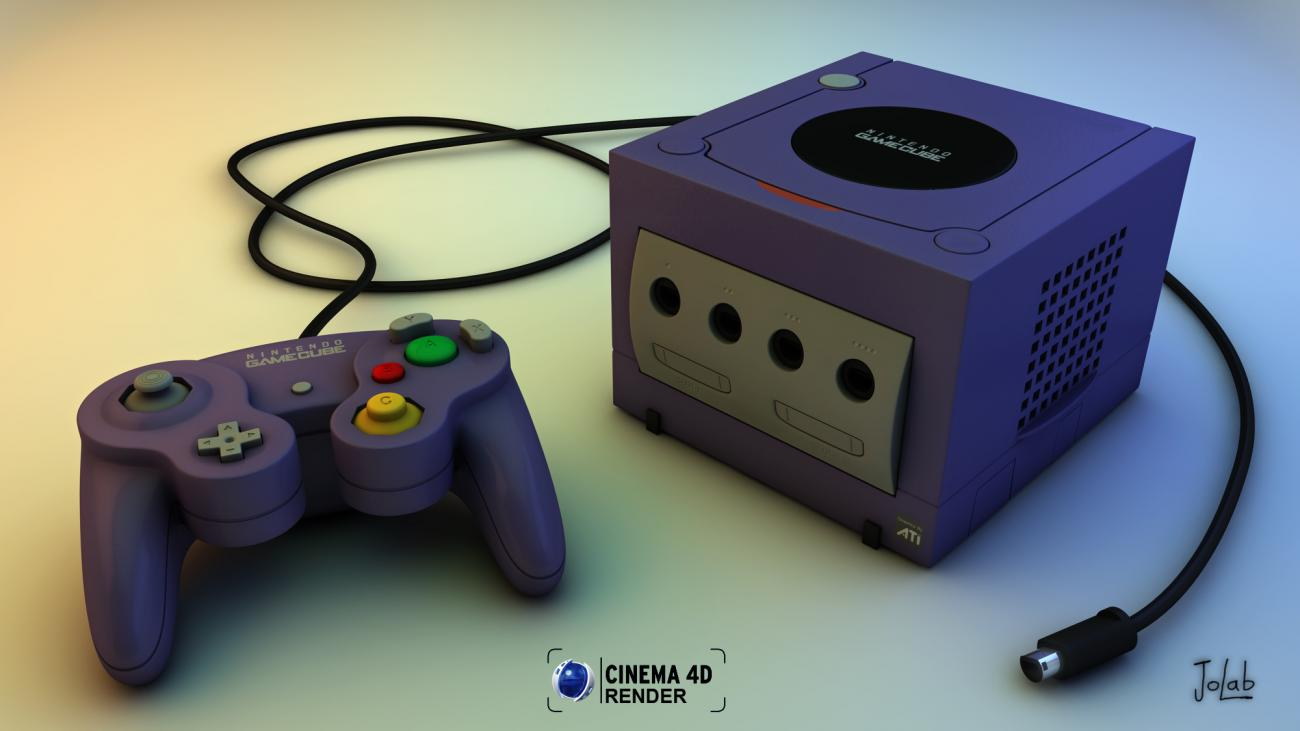 My GameCube by JoLab