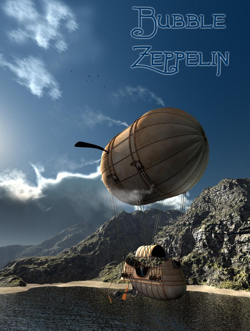 Fly Bubble Zeppelin by 1971s