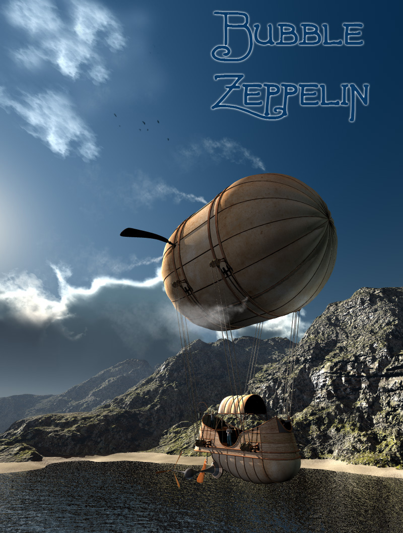 Fly Bubble Zeppelin