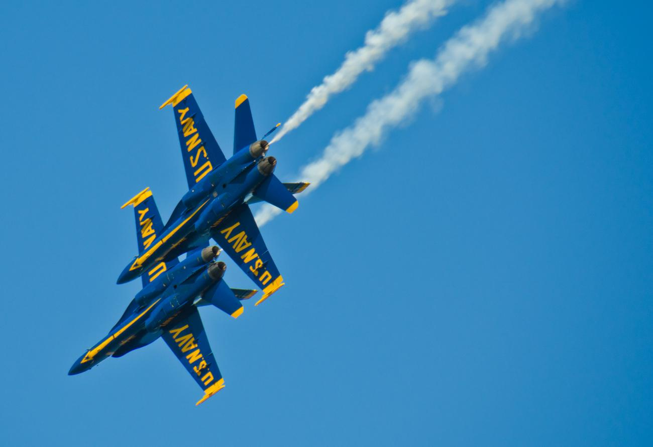 blue angels flyby 1