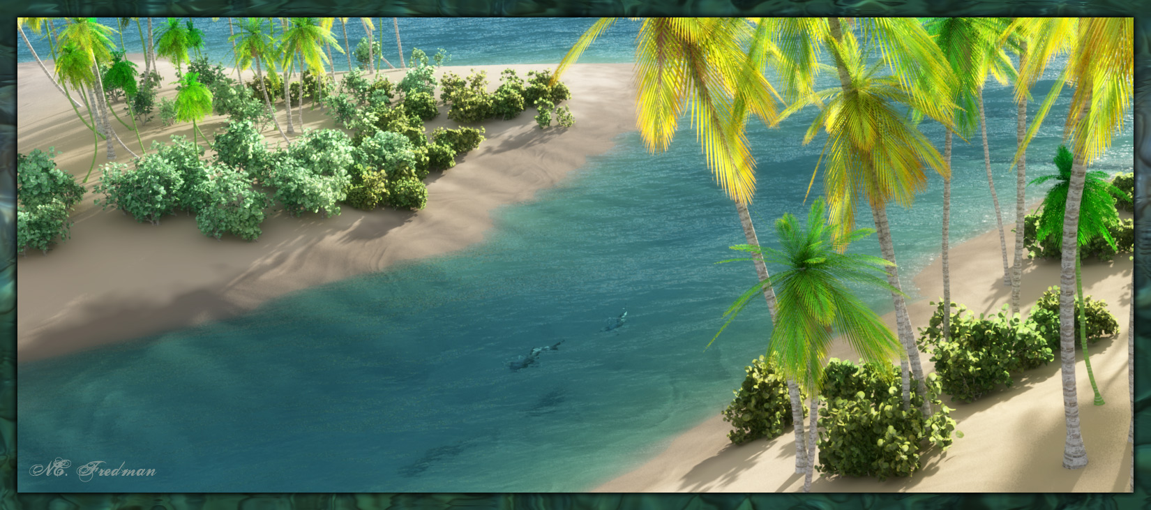 Tropic Idyll: Azure Shores