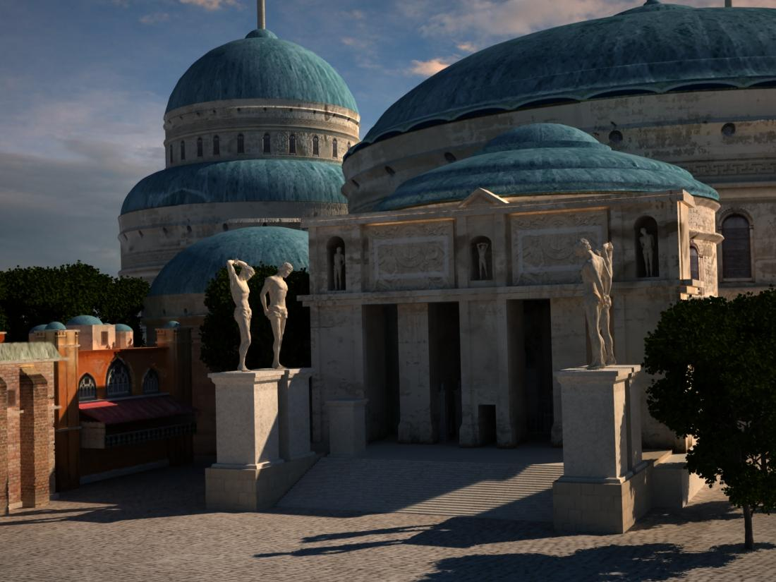 * Free model * Naboo Palace Front view