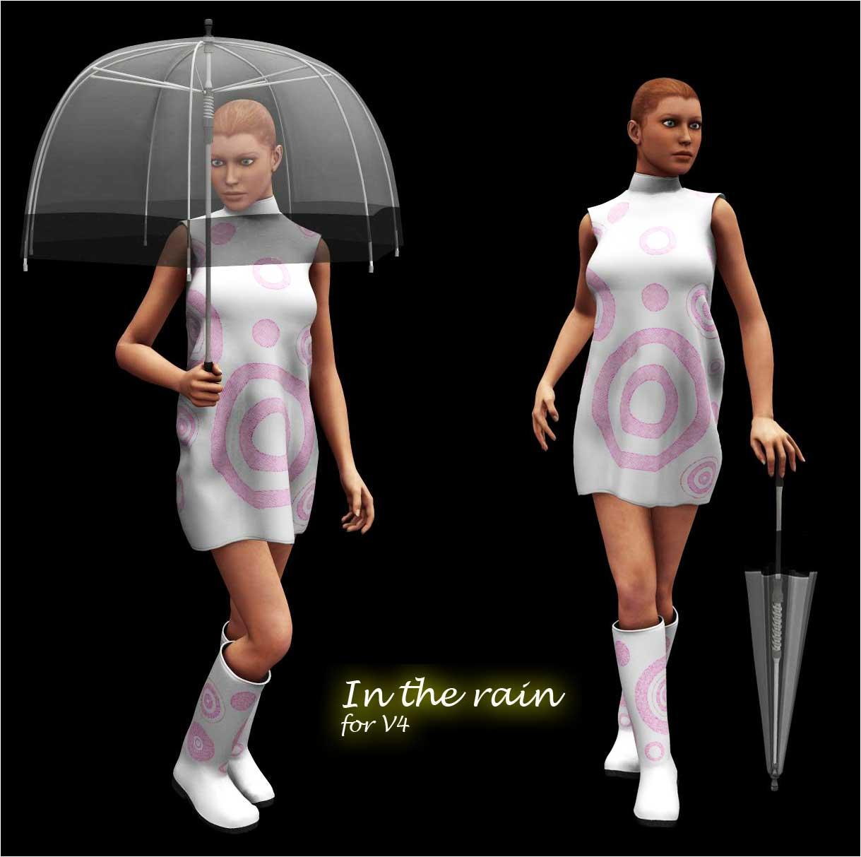 In the Rain for V4 by adh3d