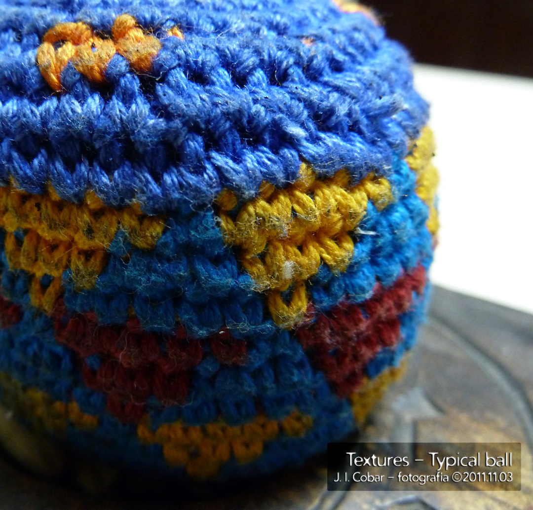 Textures - typical ball (Guatemala)