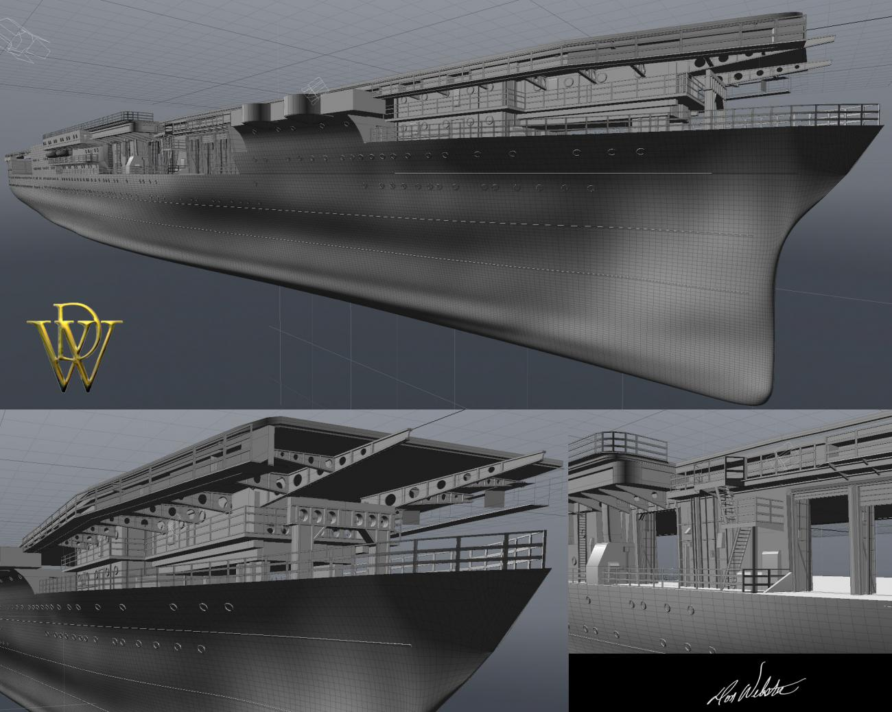 WIP Based around the USS Yorktown CV5