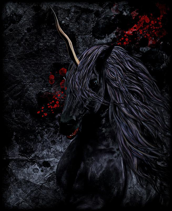 Black Unicorn of a short Story