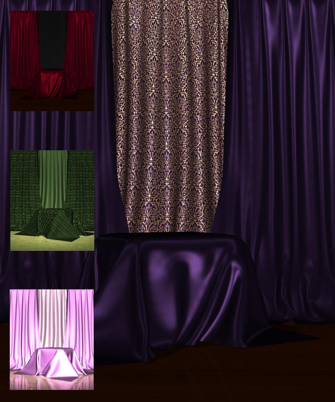 Curtain Backdrops 2