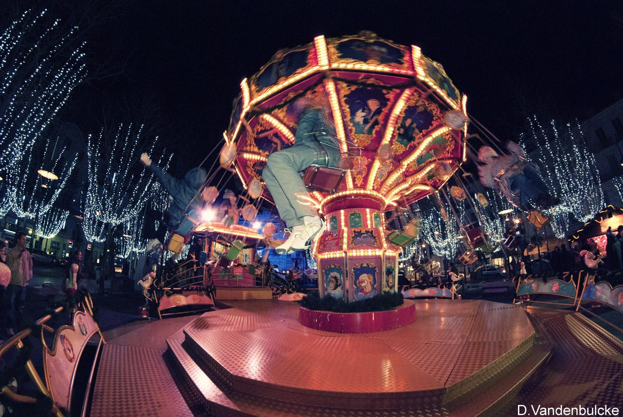 Antibes' fun fair