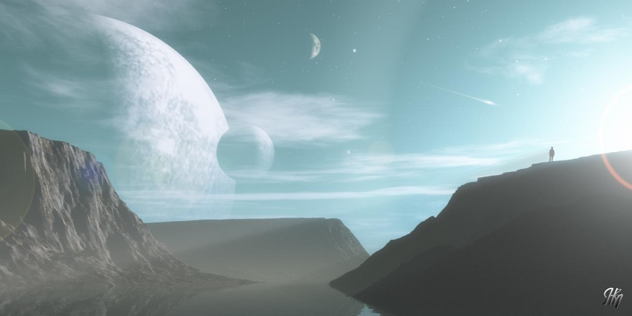 View From an Alien World