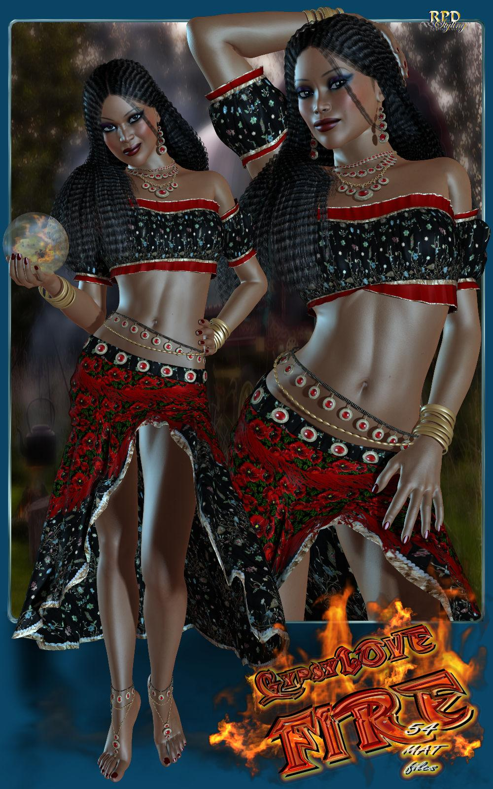 GypsyLove FIRE! by -renapd-