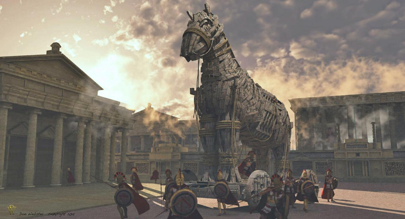 Streets of Troy