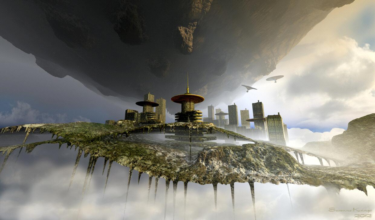 The floating cities of Orph