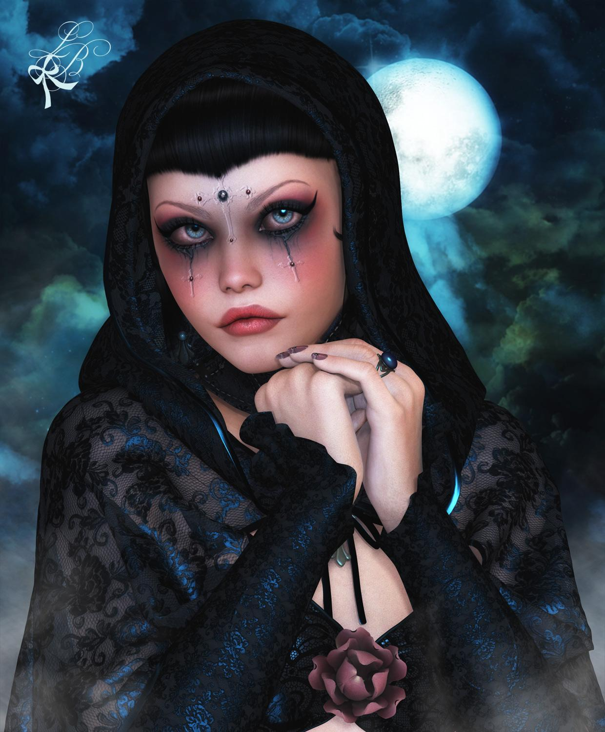 The mourning widow