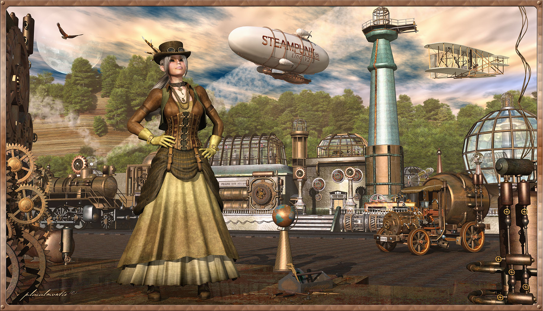 a report on my experiences as a member of the steampunk