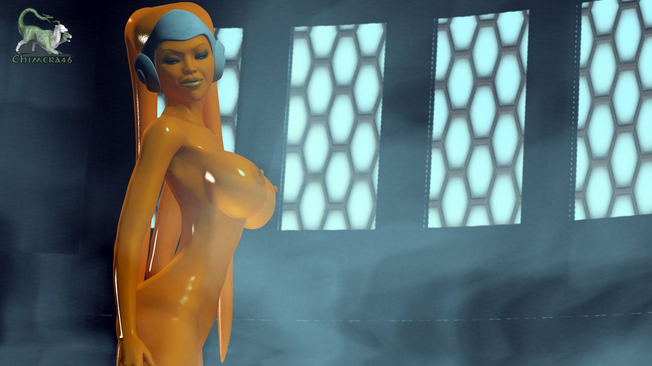 Smokey Orange Twi'lek [Star Wars]