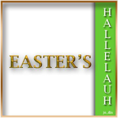 EASTER's HALLELUAH