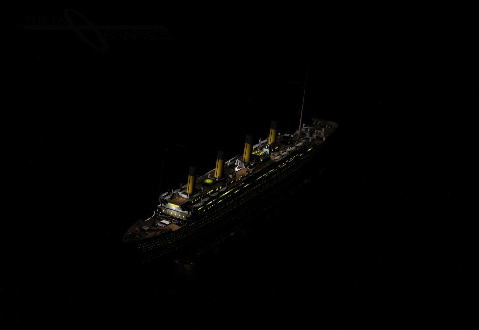 RMS Titanic - A Seabird's View