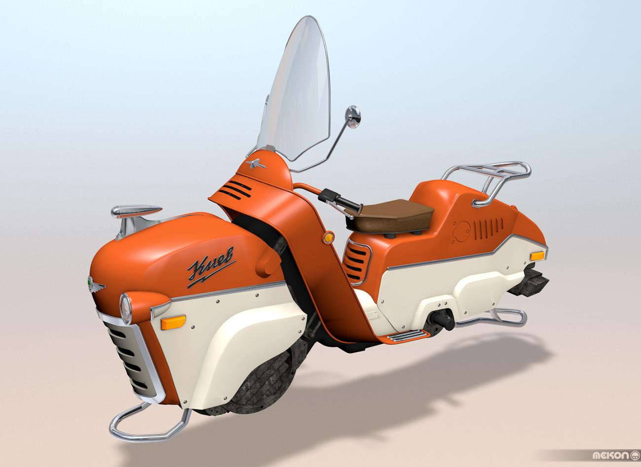 DieselPunk HoverScooter