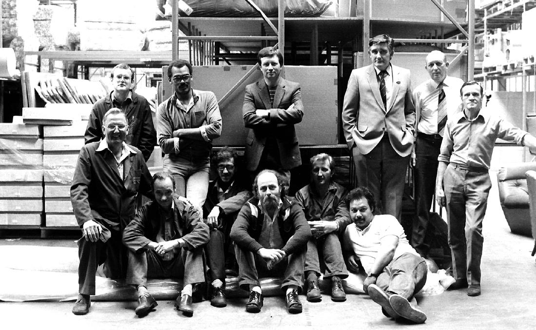 My Workmates-back in the day!