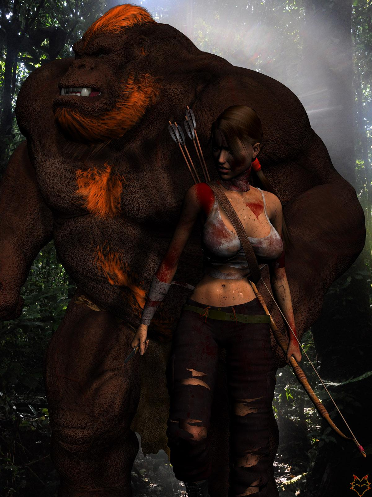 LARA AND THE HELPFULL YETI