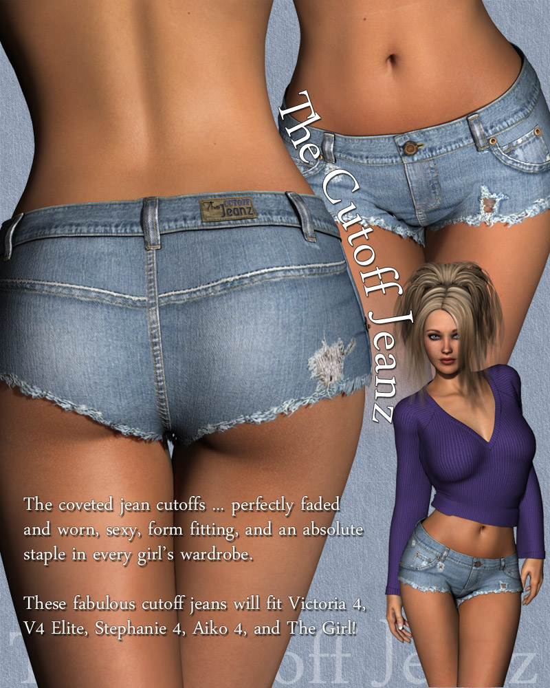Sexy Cut Off Jeans  Jeans To-7056