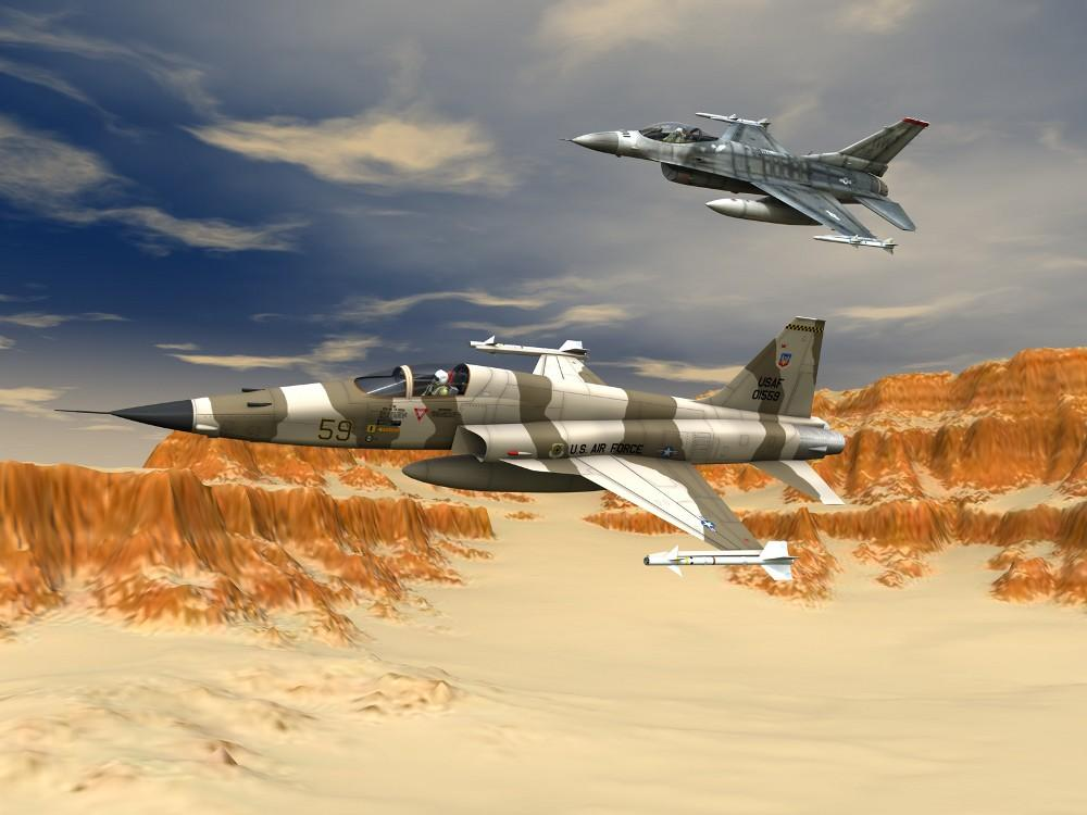 Aggressors Over The Desert