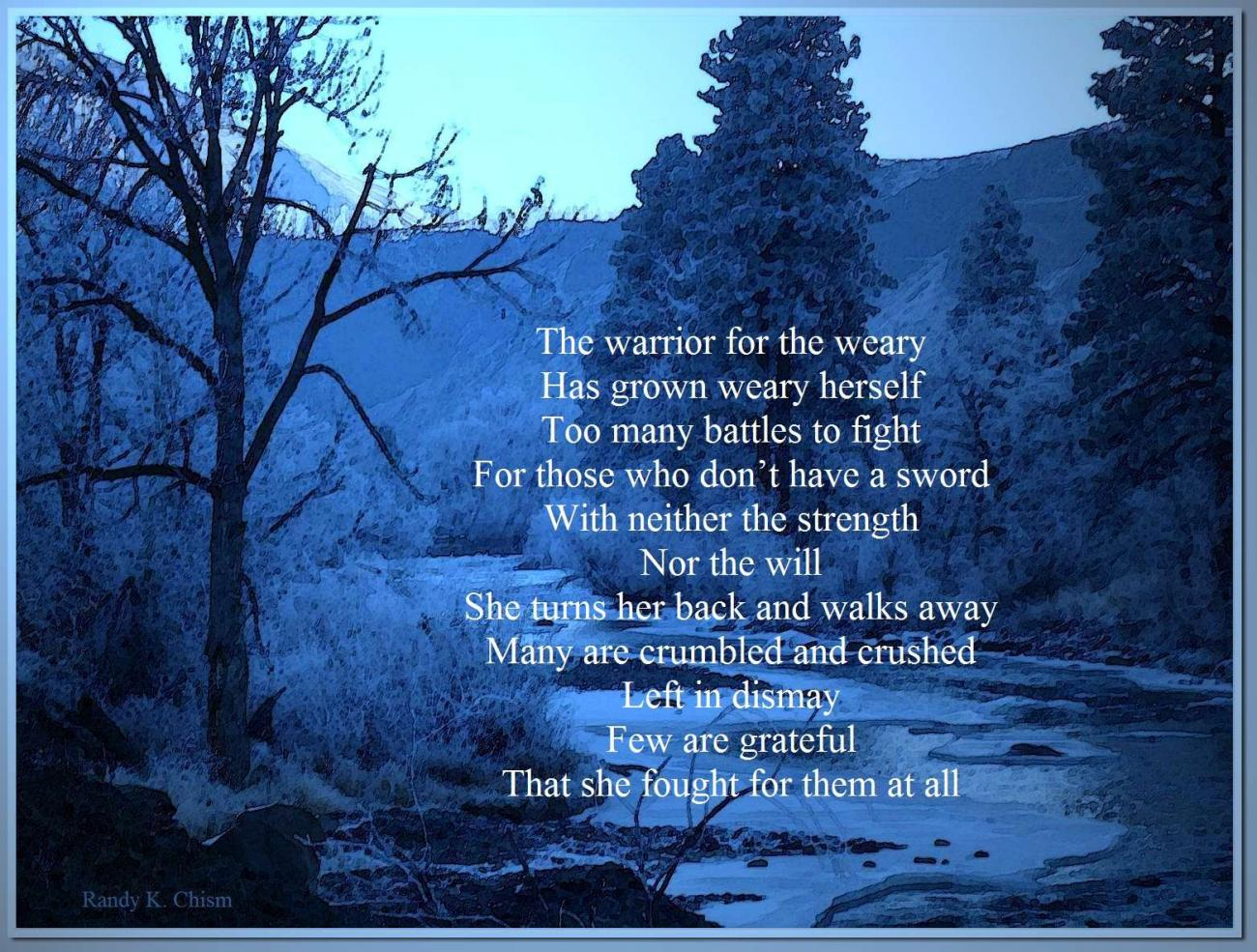 Warrior for the Weary