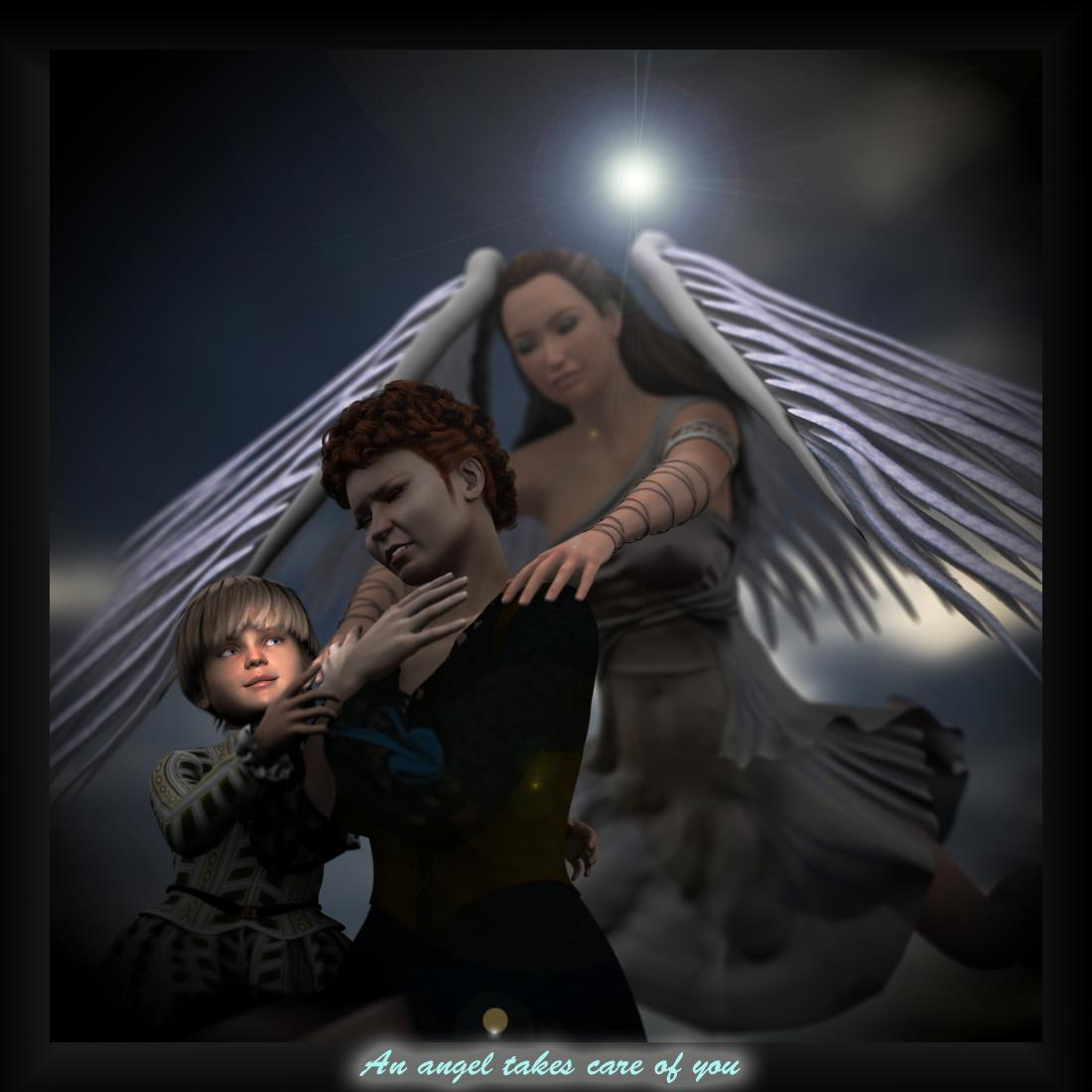 An angel (For Adrie)
