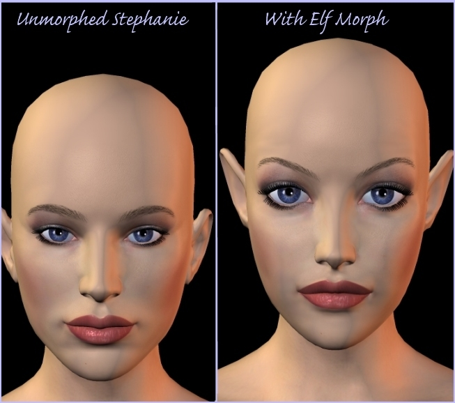 Stephanie Elf comparison by HandspanStudios