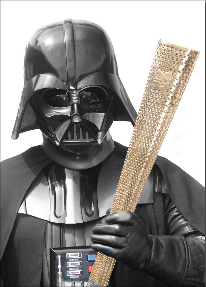 Vader Meets The Torch